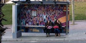 Parada de bus interactiva