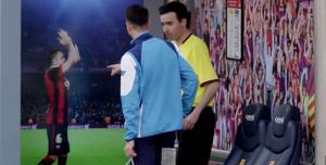 Campaña de captación de seguidores del FC Barcelona